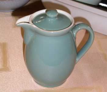 Denby Manor Green  Coffee Pot - Medium