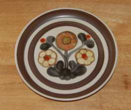 Denby Mayflower  Salad/Dessert Plate