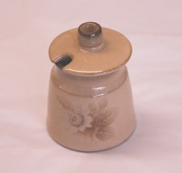 Denby Memories  Mustard Pot