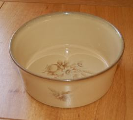 Denby Memories (Newer style, no speckles) Souffle Dish