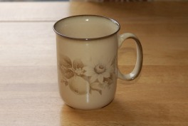 Denby Memories  Straight Mug - C shaped handle