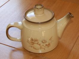Denby Memories (Older style, slight speckles) Teapot