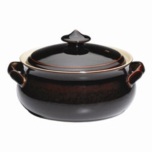 Denby Merlot  Covered Veg Dish
