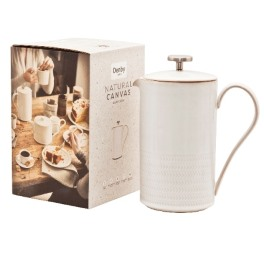 Denby Natural Canvas Textured Cafetiere (Boxed)