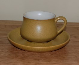 Denby Ode  Tea Cup and Saucer