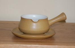 Denby Ode  Sauce Jug and Stand