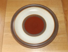 Denby Potters Wheel  Round Platter