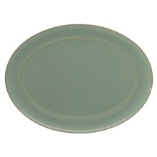 Denby Pure Green  Oval Platter
