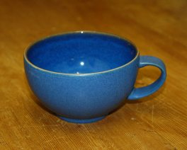 Denby Reflex Blue Breakfast Cup
