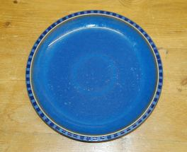 Denby Reflex Blue Salad/Dessert Plate & Discontinued Denby Reflex in stock now - buy online