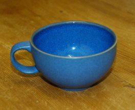 Denby Reflex Blue Tea Cup