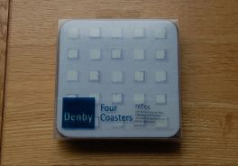 Denby Reflex  Coasters - Set of 4