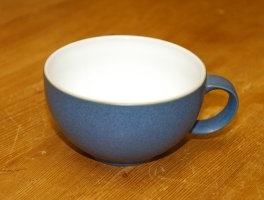 Denby Reflex White Breakfast Cup