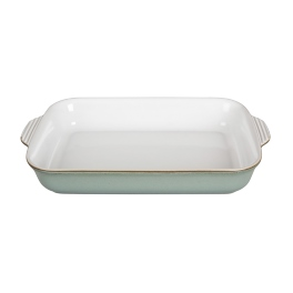 Denby Regency Green  Large Rectangular Oven Dish