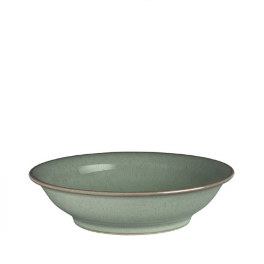 Denby Regency Green  Medium Shallow Bowl