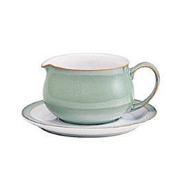 Denby Regency Green Discontinued Sauce Boat Stand