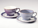 Denby Storm Grey Breakfast Cup and Saucer