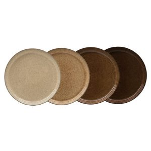 Denby Studio Craft  Coupe Dinner Plates - set of 4