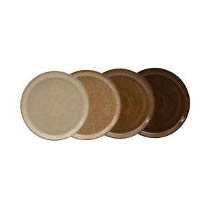 Denby Studio Craft  Medium Coupe Plates - set of 4