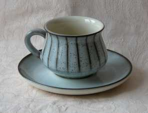 Denby Studio  Tea Cup and Saucer