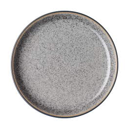 Denby Studio Grey  Medium Coupe Plates - set of 4