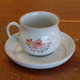 Denby Summerfields  Tea Cup and Saucer