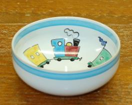Denby Train  Cereal Bowl