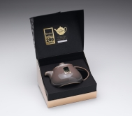 Denby Truffle Bicentenary One Cup Teapot (Boxed)