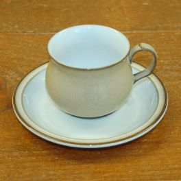 Denby Viceroy  Tea Cup and Saucer
