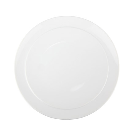 Denby White Coupe Breakfast Plate