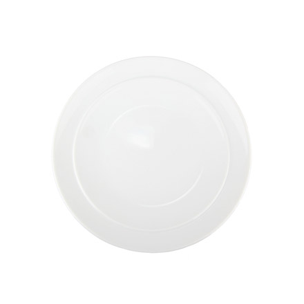 Denby White Coupe Breakfast Side Plate