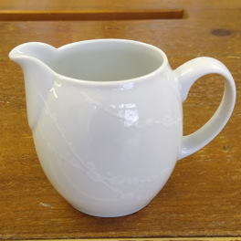 Denby White Trace  Small Jug