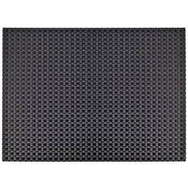Denby Accessories Woven Black Placemat - Vinyl