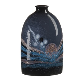 Poole Celestial  Medium Oval Bottle Vase