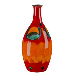 Poole Volcano  Tall Bottle Vase