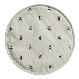 Sophie Allport Bees  Circular Hob Cover