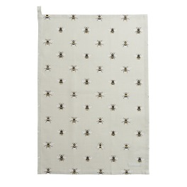 Sophie Allport Bees  Tea Towel - Cotton