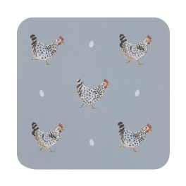 Sophie Allport Chicken  Coasters - Set of 4