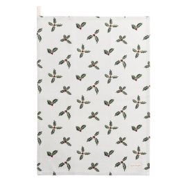 Sophie Allport Holly & Berry  Tea Towel - Cotton