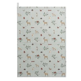 Sophie Allport Woodland  Tea Towel - Cotton