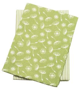 Walton Dandelion Avocado Tea Towels - Set of 2
