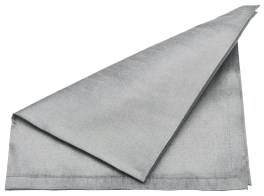 Walton Dupion Silver Napkins - Set of 4