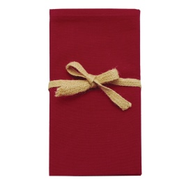 Walton Metro Florentine Red Napkins - Set of 4