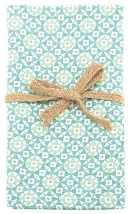 Walton Geometric Ocean Napkins - Set of 4