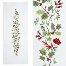 Walton Christmas Holly & Ivy Runner