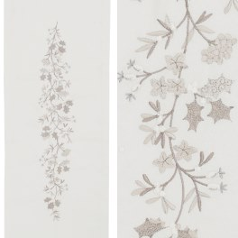 Walton Christmas Holly & Ivy White Runner