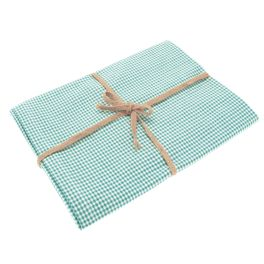 Walton Mini Gingham Ocean Tablecloth - Medium
