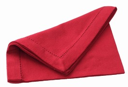 Walton Primavera Red Napkins - Set of 4