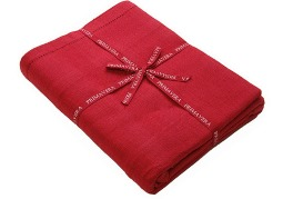 Walton Primavera Red Tablecloth - Medium