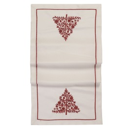 Walton Christmas Red Tree Runner